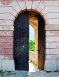 Klis - Middeleeuwse vesting in Kroatië royalty-vrije stock foto's