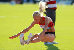 KLISHINA Darya (RUS) Royalty Free Stock Image