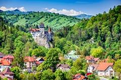 Klislott, Brasov, Transylvania, Rumänien royaltyfri bild