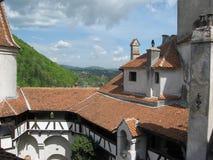 Klislott i Transylvania royaltyfria foton