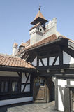 Klislott, Rumänien Arkivfoto