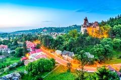 Klislott, Rumänien, Transylvania arkivbilder