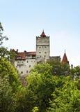 Klislott (slotten av Dracula) romania Royaltyfri Bild