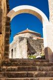 Kliss slott Dubrovnik Arkivfoton