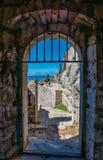 Kliss slott Dubrovnik Fotografering för Bildbyråer