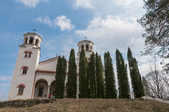 Klisura kloster, Bulgarien Royaltyfria Bilder