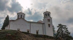 Klisura kloster, Bulgarien Arkivfoto