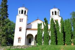 Klisurski Monastery Church. Saints Cyril and Methodius Katholikon - the main church in Klisurski monastery. Close to Sofia, Bulgaria Royalty Free Stock Image