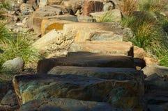 Kliva stenar Arkivfoto