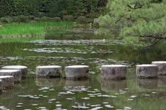 Kliva stenar i Kyoto Fotografering för Bildbyråer