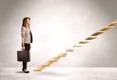 Kliva upp en trappuppgång Royaltyfri Fotografi
