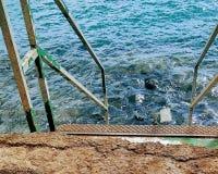 Kliver till havet Fotografering för Bildbyråer