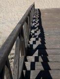 Kliver till stranden Arkivbilder