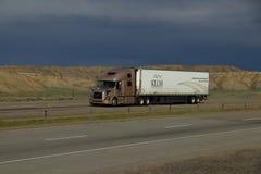 KLLM LKW-Transport Stockbild