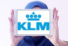 Klm皇家荷兰航空公司商标 库存图片