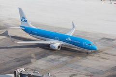 KLM荷兰皇家航空公司 图库摄影