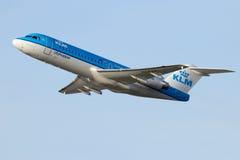 KLM飞机 库存图片