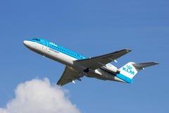 KLM Fotografia Stock