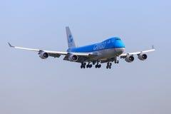 KLM ładunek Boeing 747 Zdjęcie Royalty Free