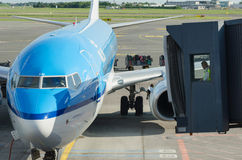 KLM aircraft Stock Photos