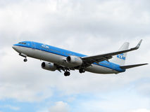 KLM airlines aircraft stock photos