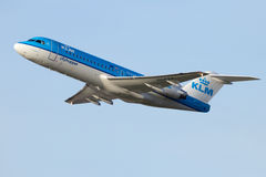 KLM airplane Stock Images