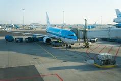 KLM airplane Stock Photos