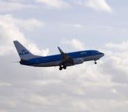 KLM Boeing 737 Fotos de Stock