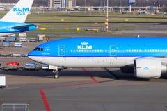 KLM Boeing 777 Imagens de Stock