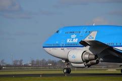 KLM Boeing 747-400 Fotos de archivo