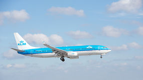 KLM Boeing 737 Stock Photos
