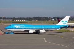 KLM Boeing 747 Stock Photos