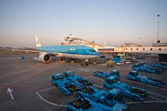 KLM Boeing 777 Stock Photos