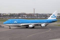 KLM Boeing 747 Royalty Free Stock Photos