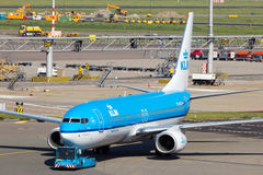 KLM Boeing 737 Stock Images