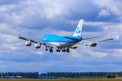 KLM Boeing 747-400 Royalty Free Stock Images