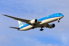 KLM Boeing 787 Dreamliner Fotografía de archivo