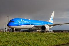 KLM Boeing 787 Dreamliner Stock Photography