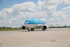KLM Boeing 737 Stock Photos