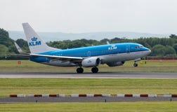 KLM Boeing 737 Royalty Free Stock Image