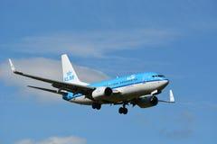 KLM Boeing 737 nästa Gen/MSN 38127/PH-BGP Royaltyfri Bild