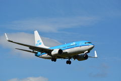 KLM Boeing 737 Next Gen / MSN 38127 / PH-BGP Royalty Free Stock Image