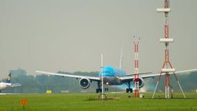 KLM Boeing 777 odjazd zdjęcie wideo