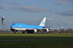 KLM Boeing 747-400 Stock Image