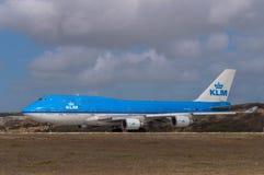 KLM Boeing 747 Stock Photo