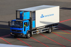 KLM catering truck Stock Photography