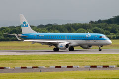 KLM Cityhopper Embraer 190ER Stock Photos