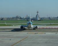 KLM Cityhopper Embraer ERJ-190STD Photographie stock libre de droits
