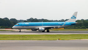 KLM Cityhopper Embraer 190 Stock Images