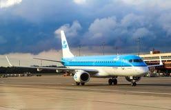 KLM Cityhopper Embraer 190STD Stock Photo